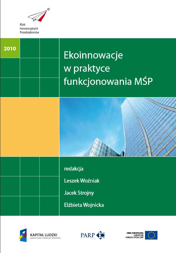 Ekoinnowacje  w praktyce  funkcjonowania MŚP