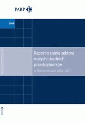 Raport o stanie sektora MSP w Polsce w latach 2006-2007