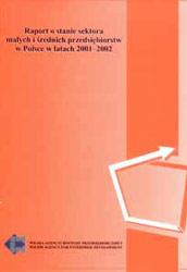 Raport o stanie sektora MSP w Polsce w latach 2001-2002