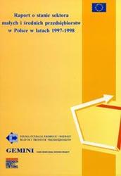 Raport o stanie sektora MSP w Polsce w latach 1997-1998