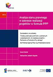 Analiza stanu prawnego w zakresie realizacji projektów w formule PPP