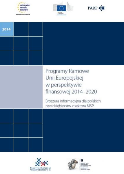 Programy Ramowe Unii Europejskiej w perspektywie finansowej 2014-2020