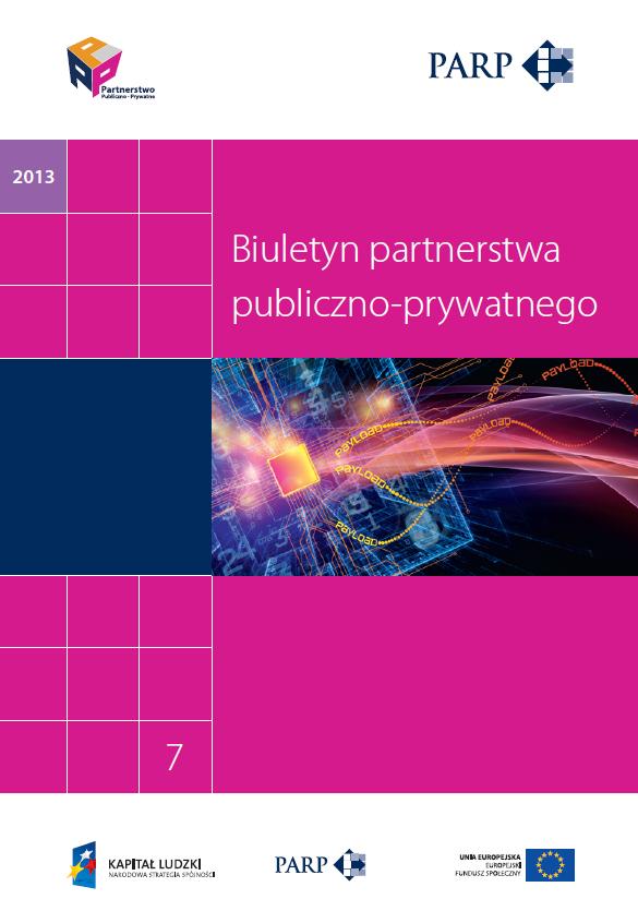 Umowa o partnerstwie publiczno-prywatnym (7 biuletyn PPP)