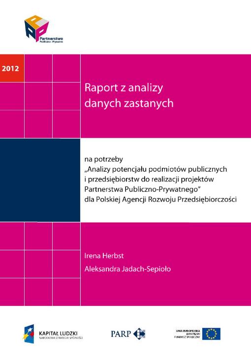 PPP. Raport z analizy danych zastanych