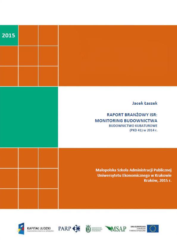 Monitoring budownictwa - raport branżowy ISR