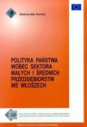 Polityka państwa wobec sektora MSP we Włoszech