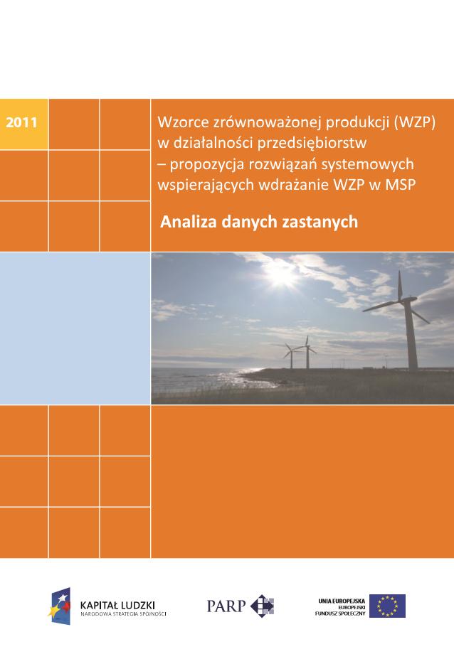 Wzorce zrównoważonej produkcji w działalności przedsiębiorstw – analiza danych zastanych