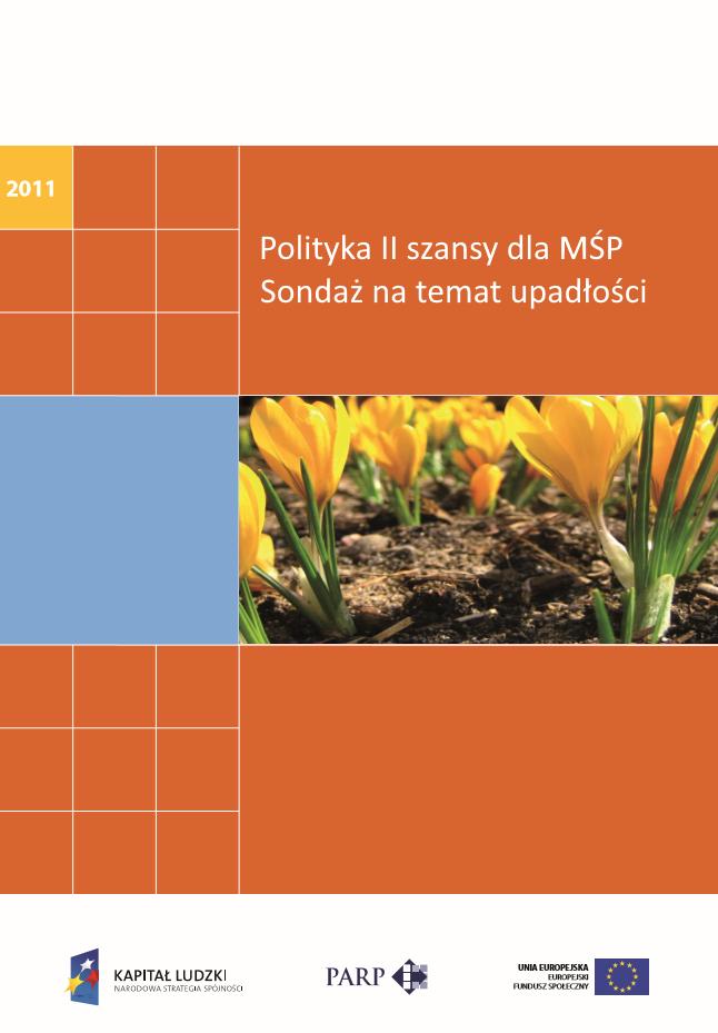 Polityka II szansy dla MŚP. Sondaż nt upadłości
