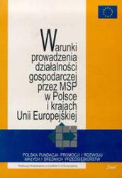 Warunki prowadzenia działalności gosppodarzczej przez MSP w Polsce i UE