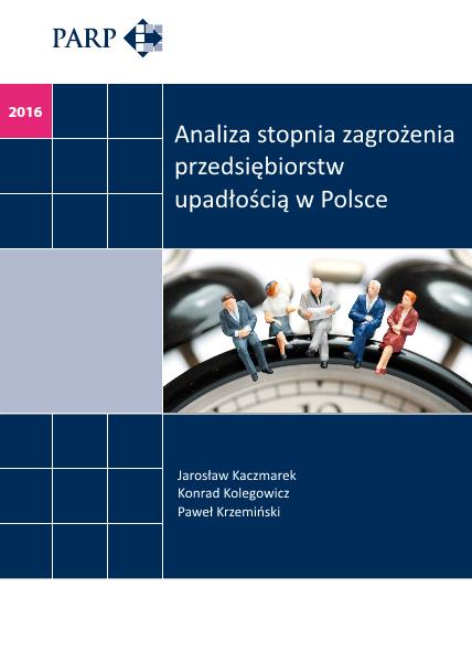 Analiza stopnia zagrożenia przedsiębiorstw upadłością w Polsce