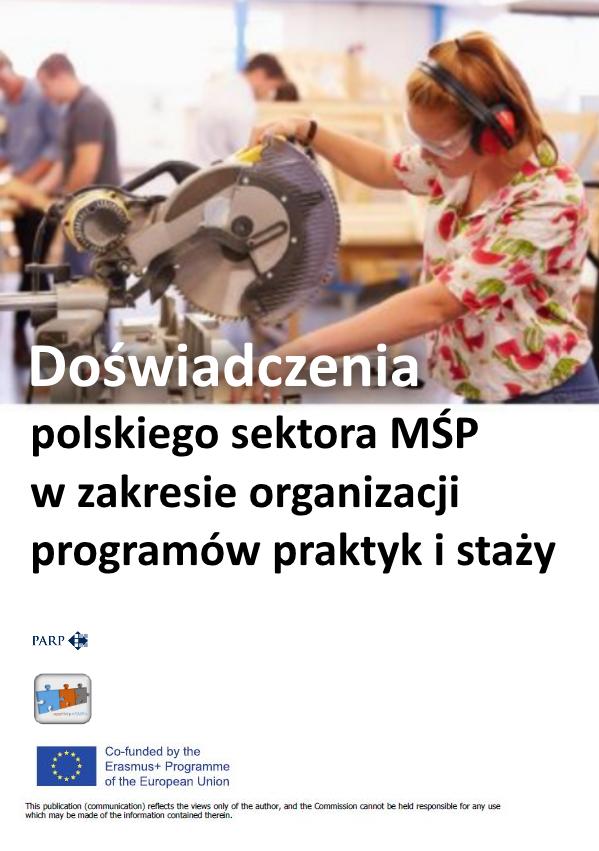 Doświadczenia polskiego sektora MŚP w zakresie organizacji programów praktyk i staży