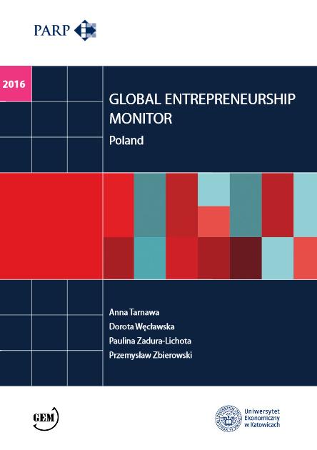 Global Entrepreneurship Monitor Poland - 2015 (EN)
