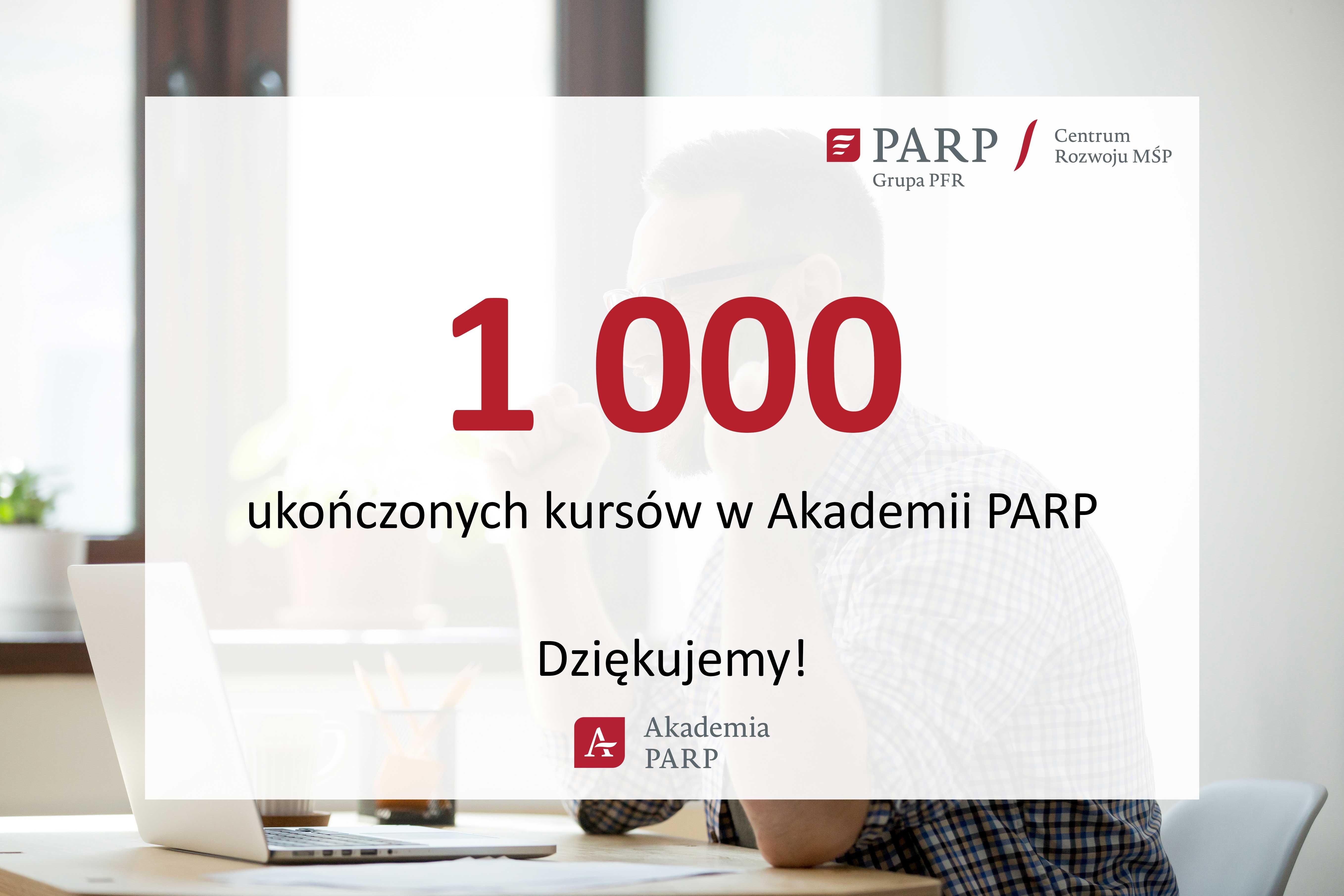 Tysiąc kursów w Akademii PARP