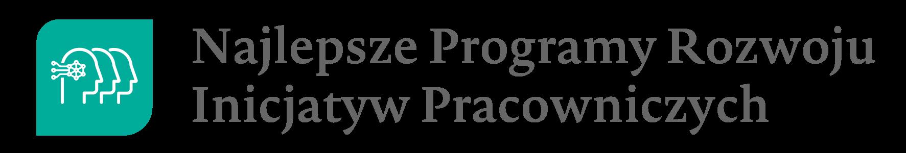 Logo Najlepsze Proramy Rozwoju Inicjatyw Pracowniczych