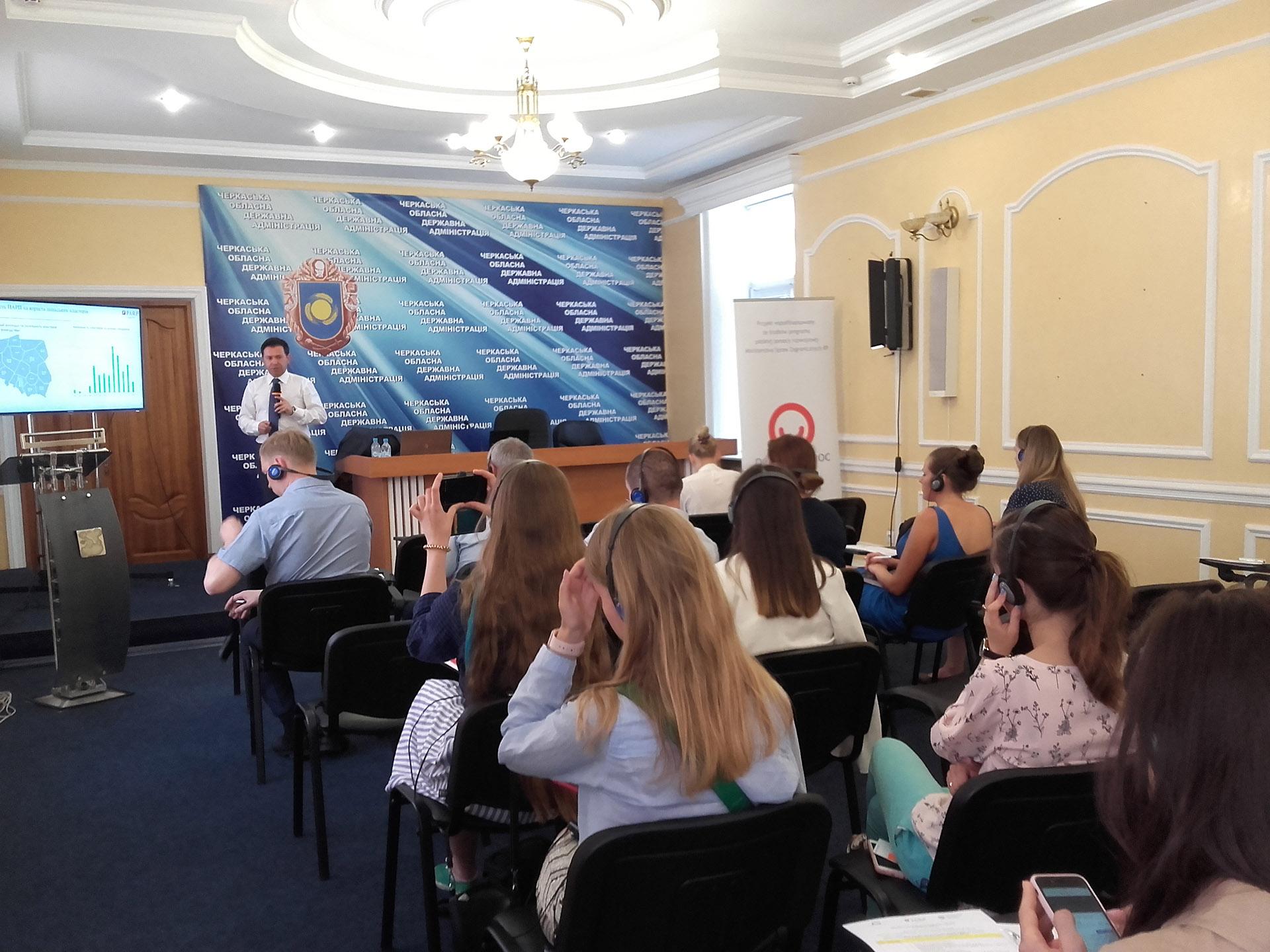 Specjaliści PARP na Ukrainie