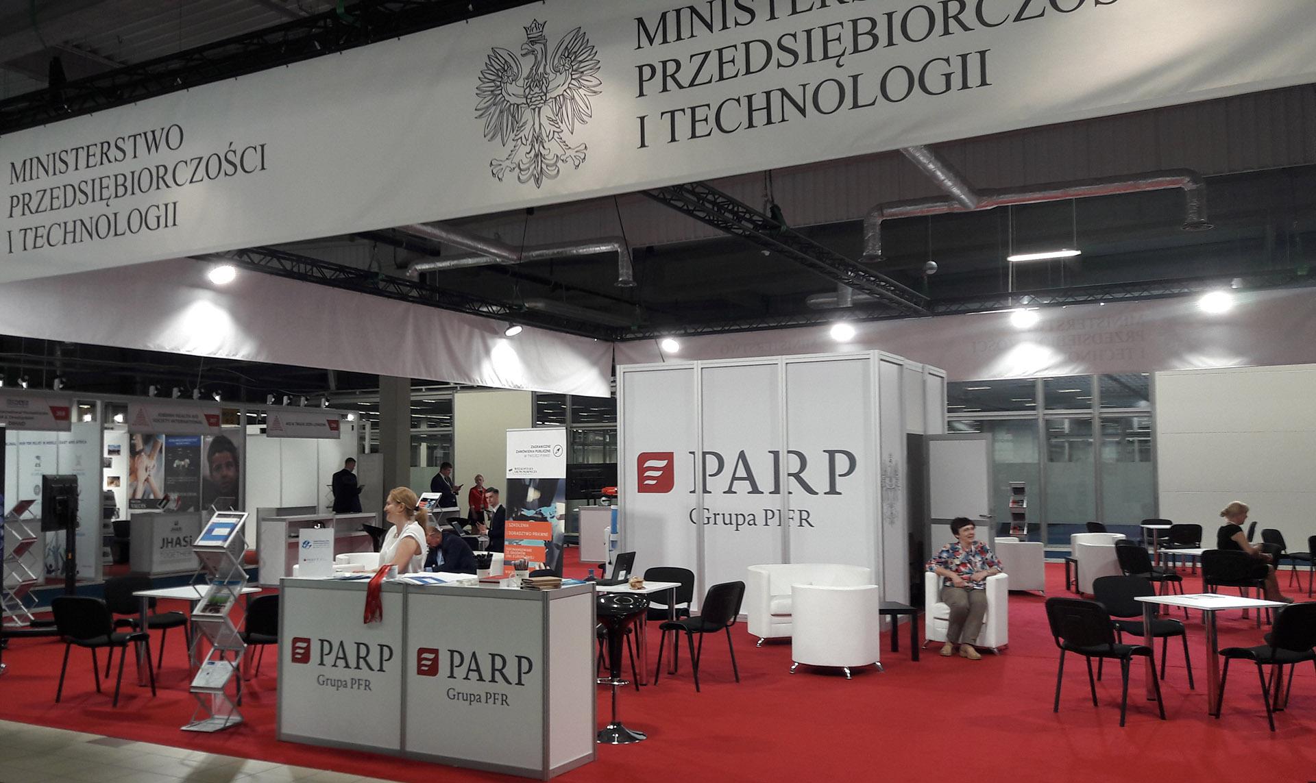 PARP na Warsaw Humanitarian Expo 2019