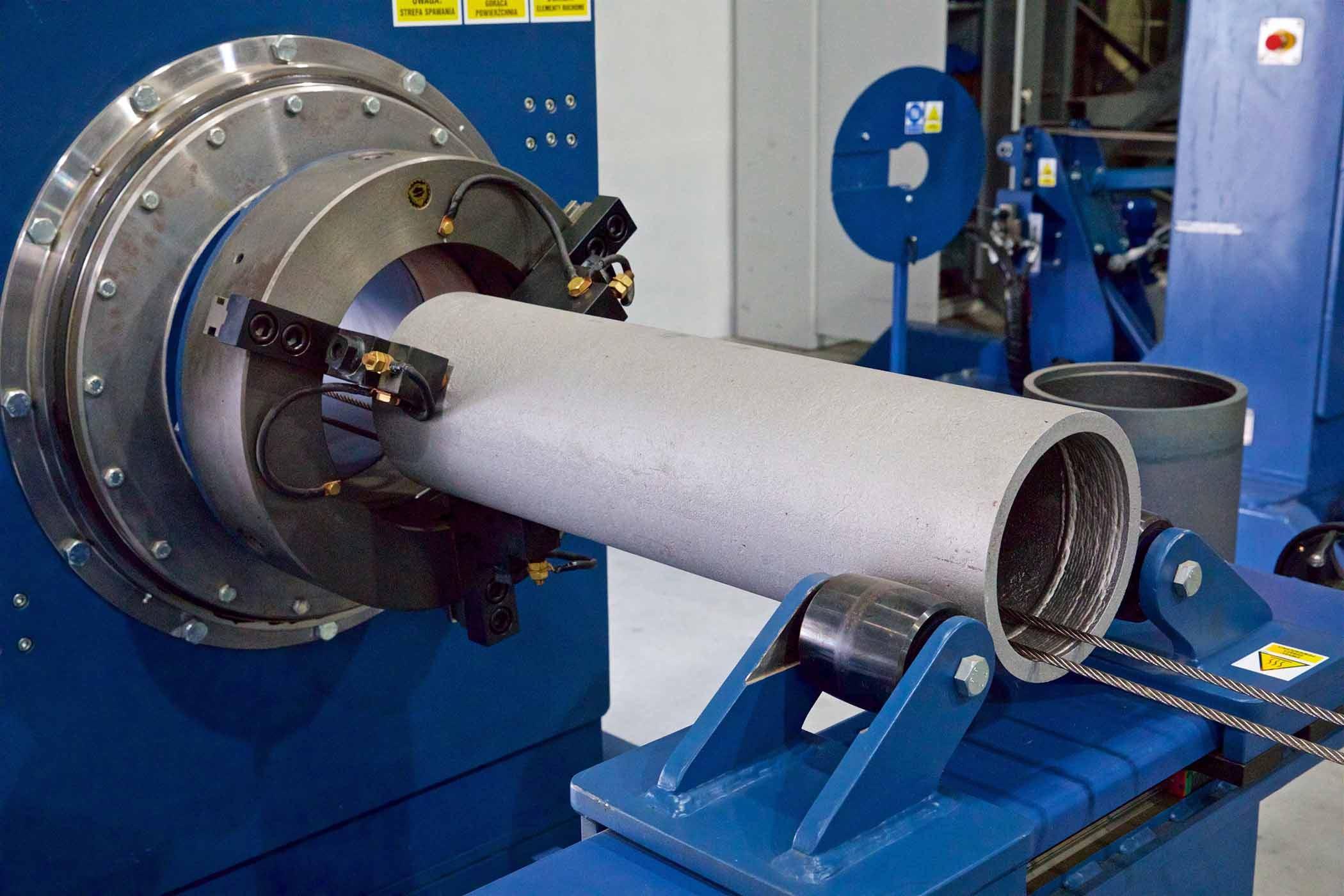 Technologia produkcji asortymentu rur FLOWLINE