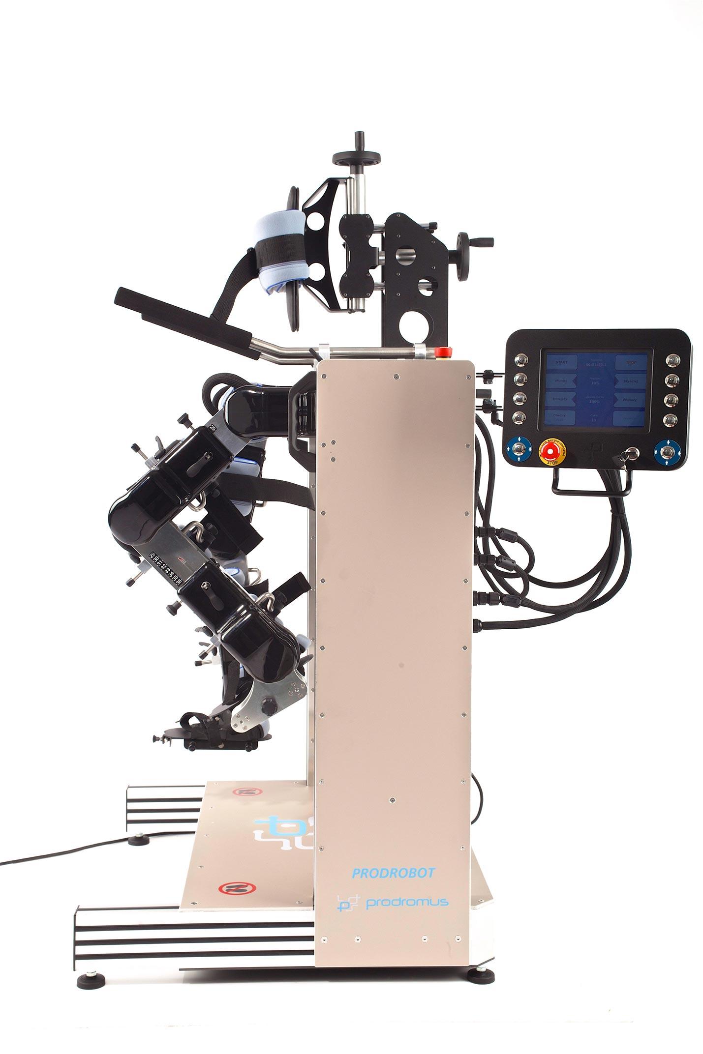 Promocja  robota rehabilitacyjnego kończyn dolnych dla dzieci PRODROBOT