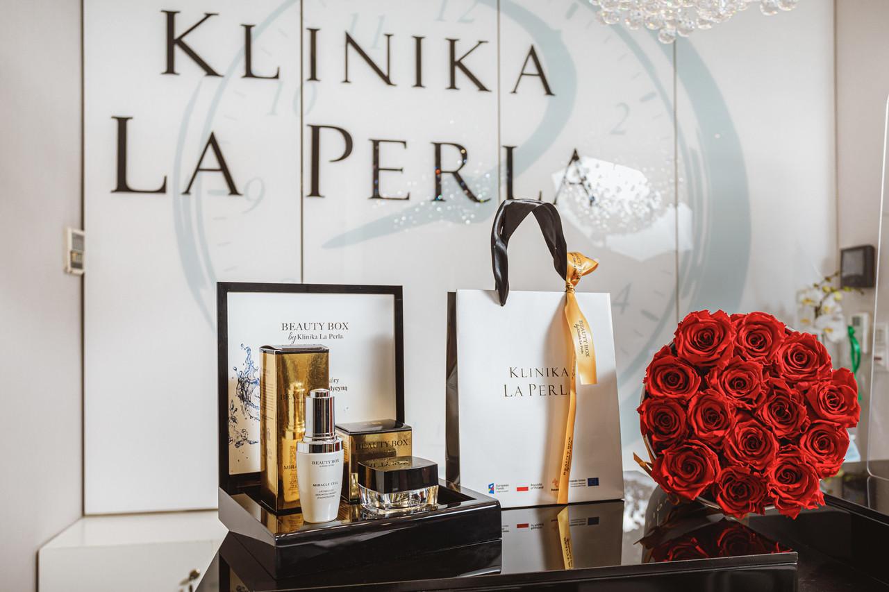 Wzrost konkurencyjności La Perla poprzez rozwój eksportu własnej linii kosmeceutyków Beauty Box by La Perla