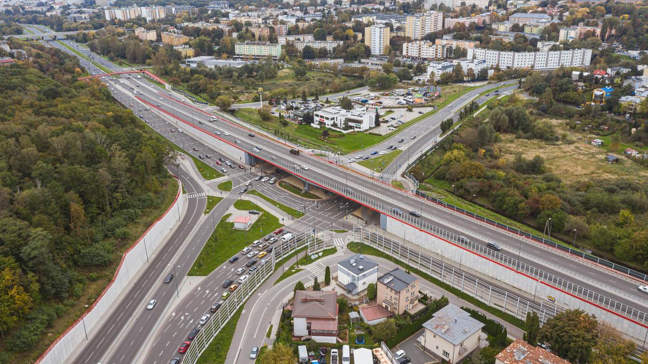 Przebudowa skrzyżowania DK 19 (al. Solidarności i al. Gen. Wł. Sikorskiego) i DW 809 (ul. Gen. Ducha) w Lublinie - wyprowadzenie ruchu w kierunku węzła Lublin Czechów (S12/S17/S19)