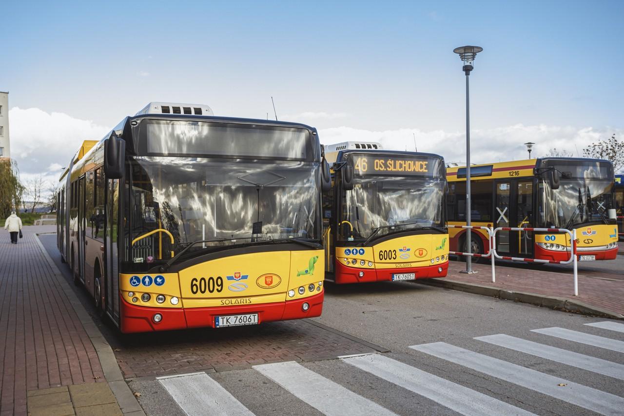 Rozwój infrastruktury transportu publicznego w Kielcach