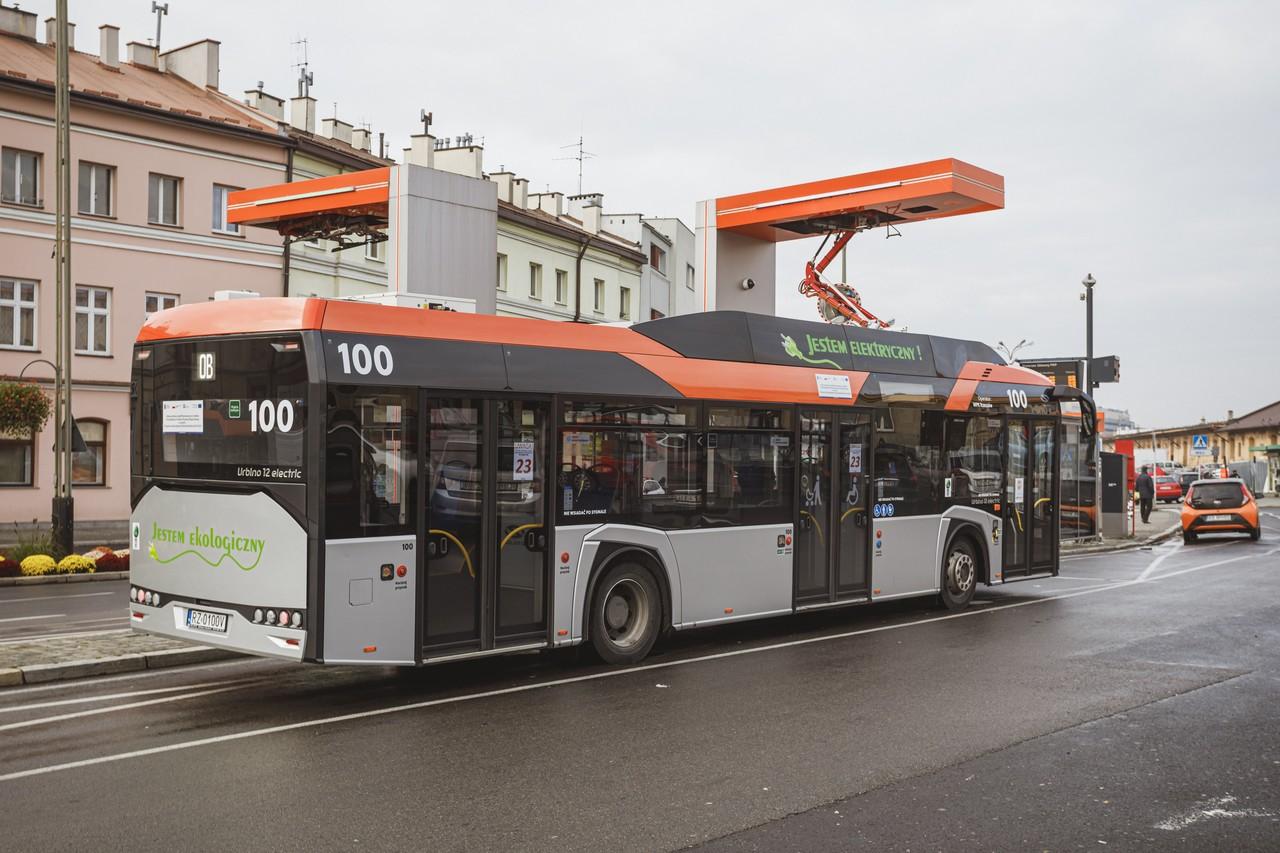 Rozwój systemu transportu publicznego w Rzeszowie
