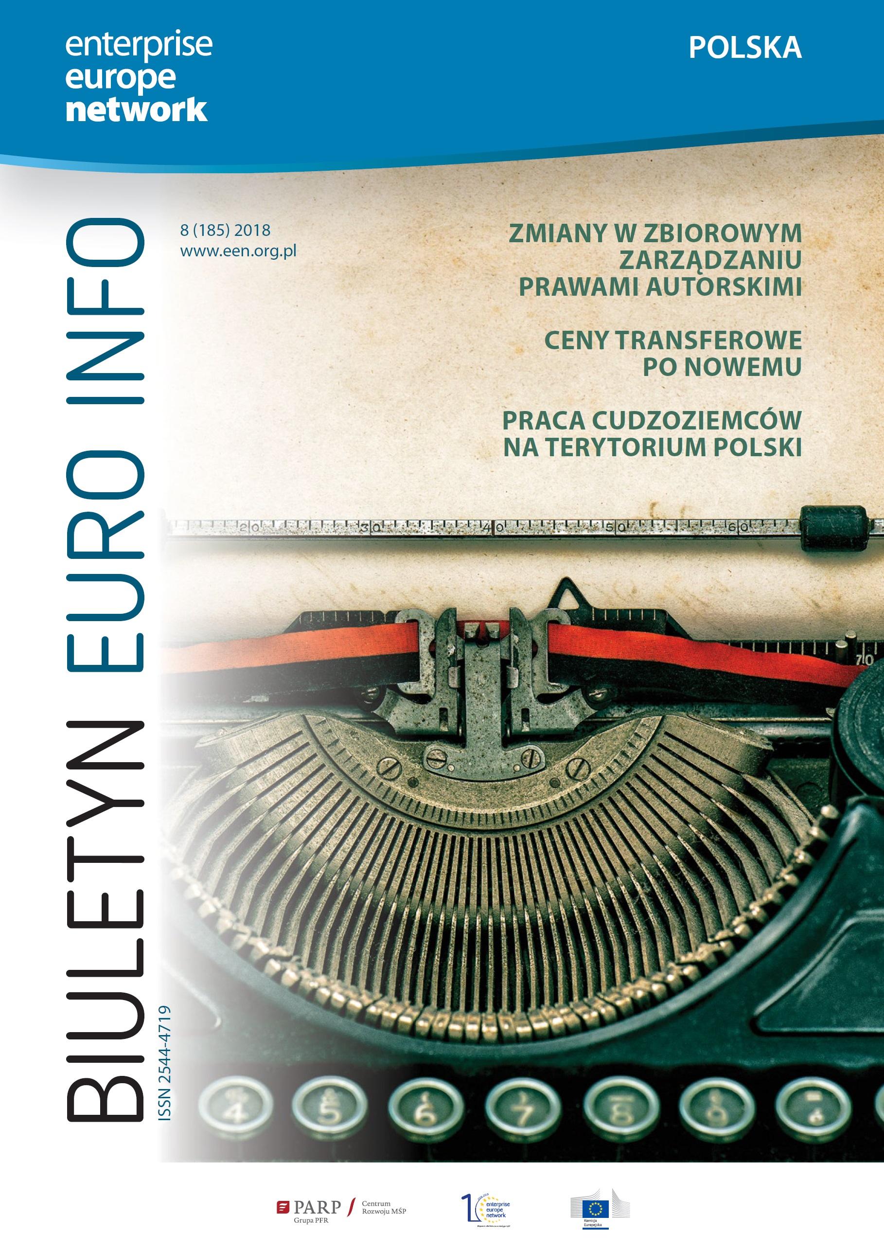 Biuletyn Euro Info 8/2018