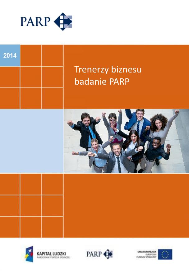 Trenerzy biznesu - badanie PARP