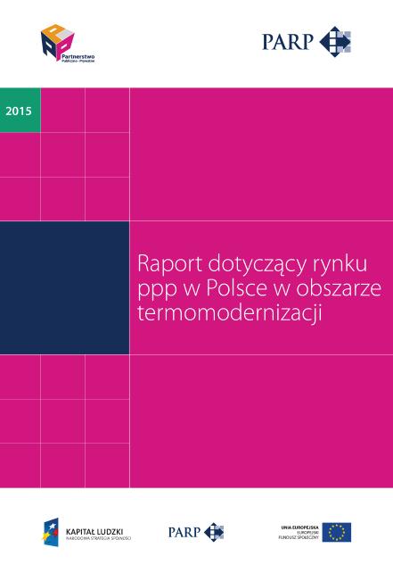 Rynek PPP w Polsce w obszarze termomodernizacji